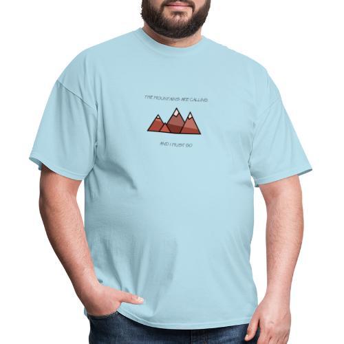 The Mountains - Men's T-Shirt