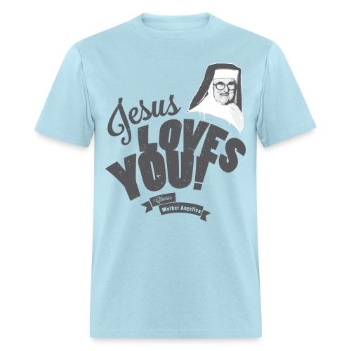 Classic Mother Angelica Dark - Men's T-Shirt