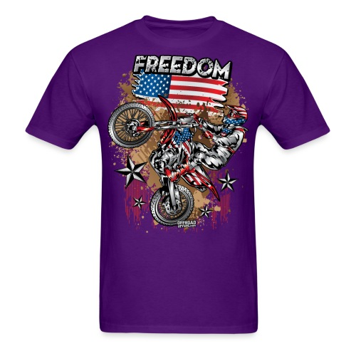 Motocross USA - Men's T-Shirt