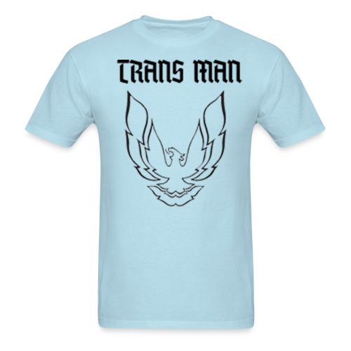 Trans Man B W - Men's T-Shirt