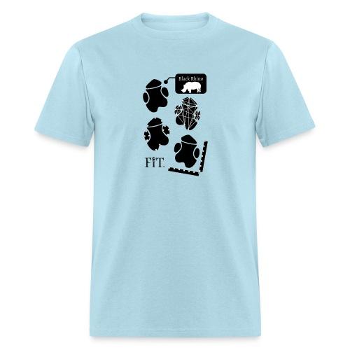 Rhino Algorithm (Light) - Men's T-Shirt