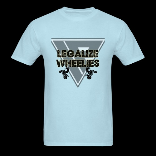 LEGALIZE WHEELIES - Men's T-Shirt