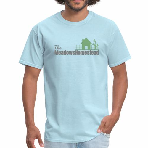 TMHlogo gray and green - Men's T-Shirt