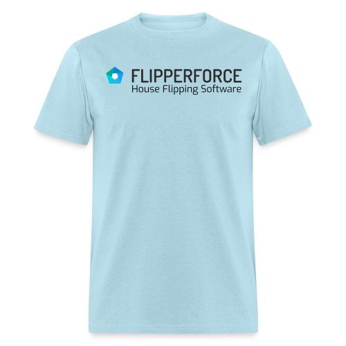 Flipper Force House Flipping Software Logo - Men's T-Shirt