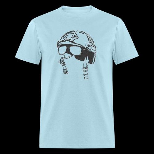 Chin Strap - Men's T-Shirt
