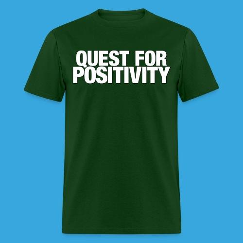 Quest for Positivity Q4P - Men's T-Shirt