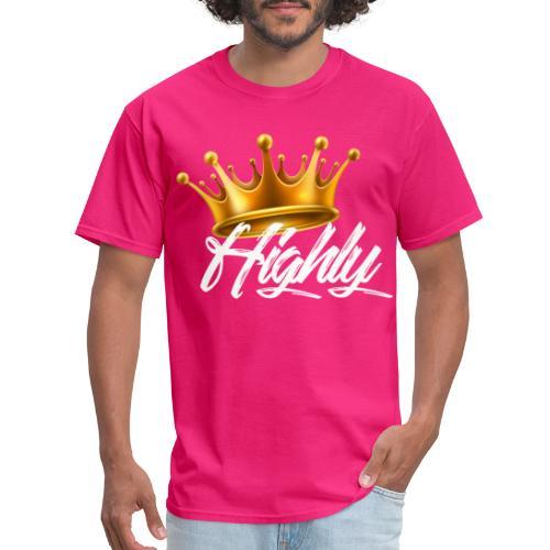 Highly Crown Print - Men's T-Shirt