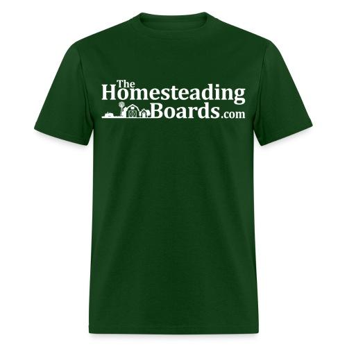 THB Black Logo BW 02 png - Men's T-Shirt