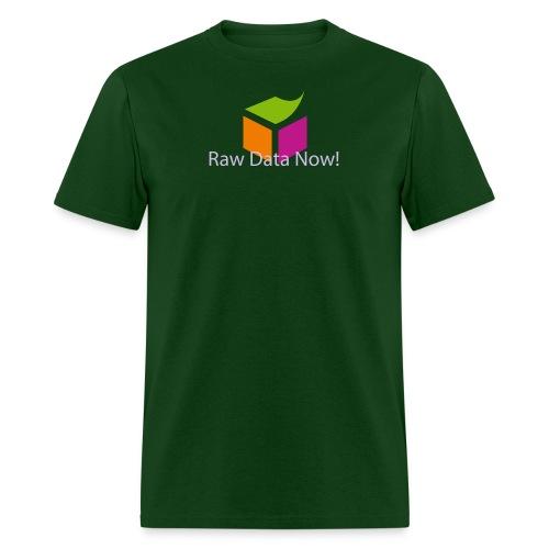Raw Data Now - Men's T-Shirt