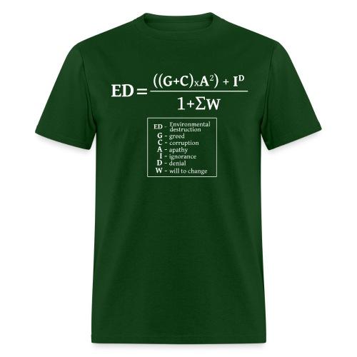 formulaEN-white - Men's T-Shirt