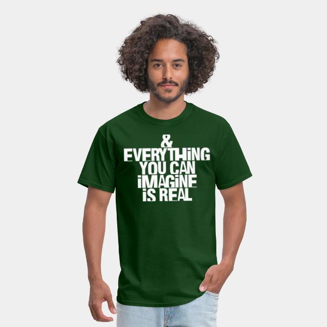 real imagine imagination reality