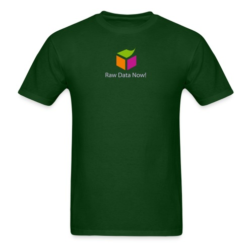 Raw Data Now - Men's T-Shirt