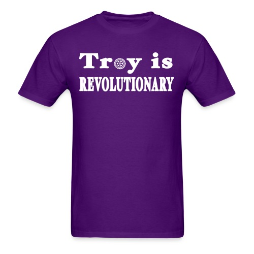 New York Old School Troy is Revolutionary Shirt - Men's T-Shirt