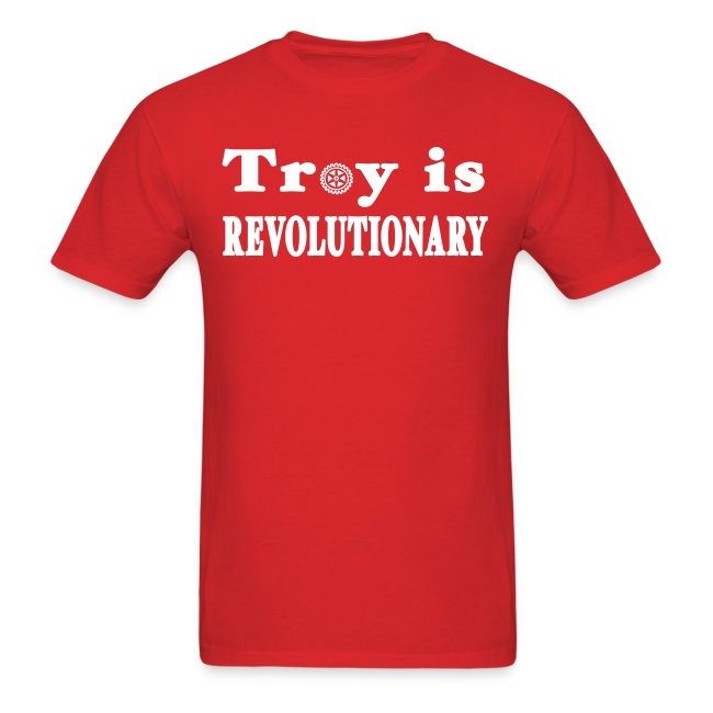 New York Old School Troy is Revolutionary Shirt