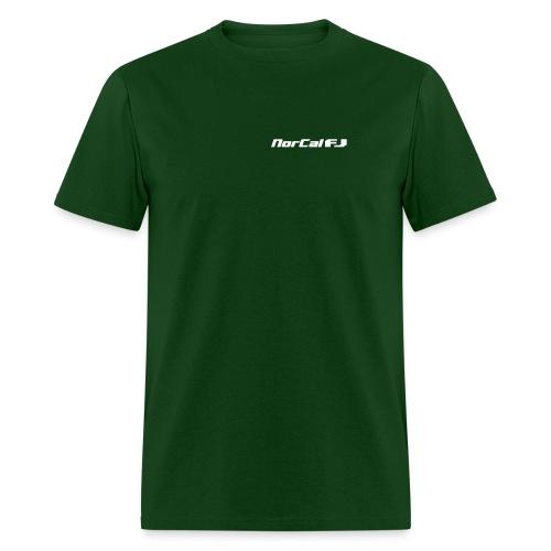 norcalfj textonly - Men's T-Shirt