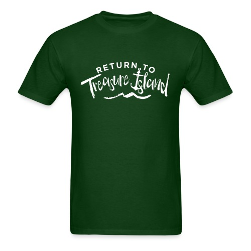 Return To Treasure Island - Men's T-Shirt