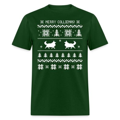 Merry Colliemas - Men's T-Shirt