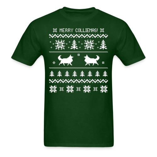 Merry Colliemas - Men's T-Shirt