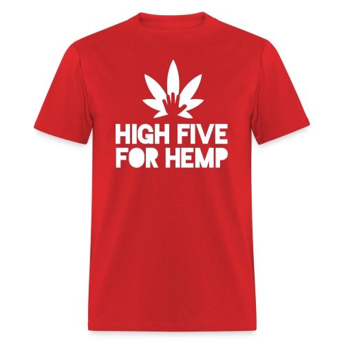 High Five for Hemp - Men's T-Shirt