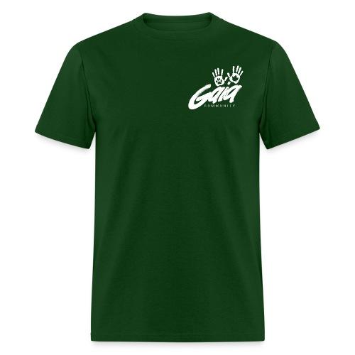 gaialogo white png - Men's T-Shirt