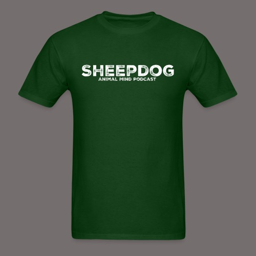 Animal Mind Podcast - Sheepdog - Men's T-Shirt