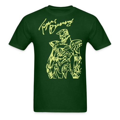 tigerneon green - Men's T-Shirt