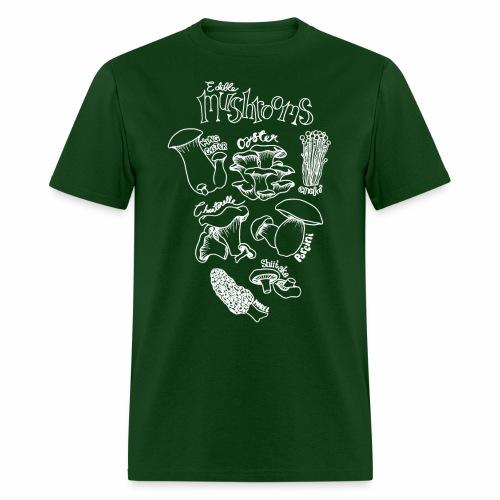 Mushrooms- White - Men's T-Shirt