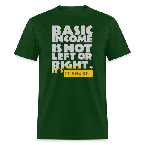 UBI is not Left or Right - Men's T-Shirt