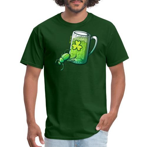 Saint Patrick's Day Beetle - Men's T-Shirt