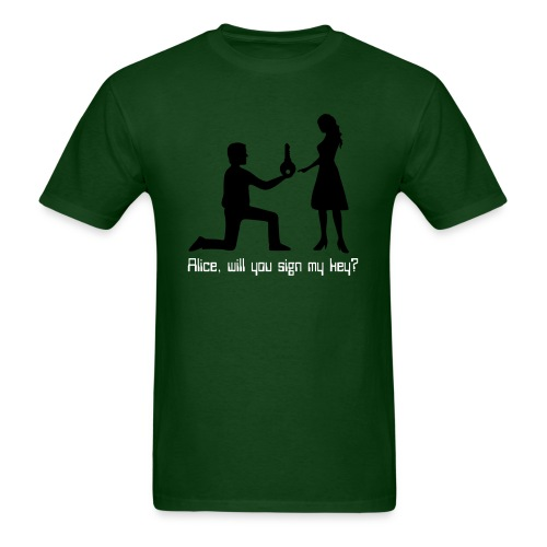 The Proposal - Men's T-Shirt
