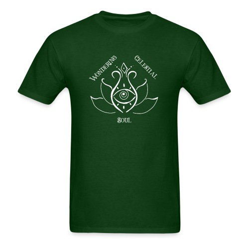 Light Wondering Celestial Soul Logo - Men's T-Shirt