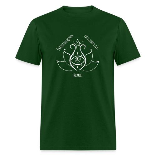 Light Wondering Celestial Soul Logo - Men's T-Shirt