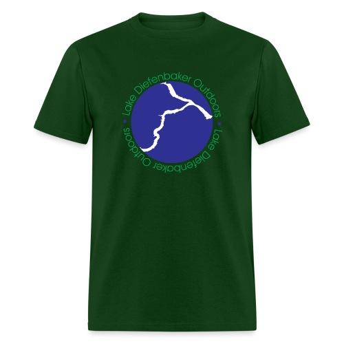 LDO WHITE LOGO - Men's T-Shirt
