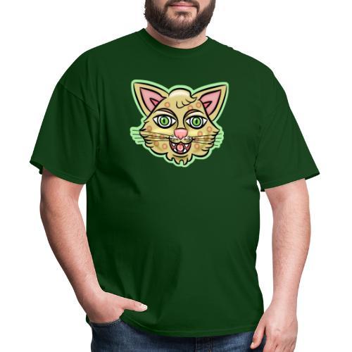 Happy Cat Gold - Men's T-Shirt