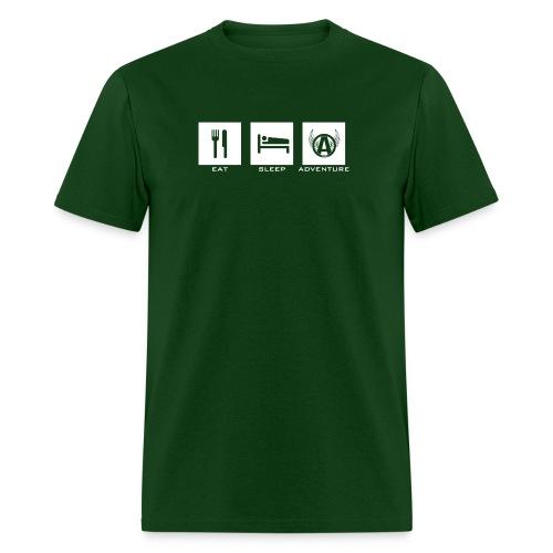 esa white - Men's T-Shirt