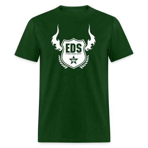 eds shiled logo white - Men's T-Shirt