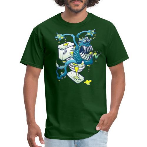 Toilet Monster - Men's T-Shirt