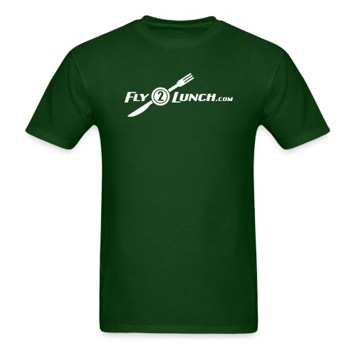 fly2lunch - Men's T-Shirt