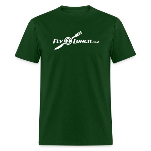 fly2lunch - Men's T-Shirt