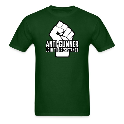 anti-gunner join the resistance - Men's T-Shirt