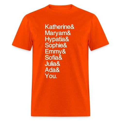 Women in Math (& You!) - Men's T-Shirt
