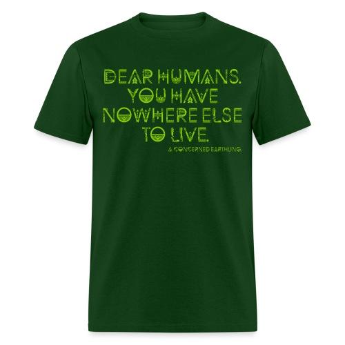 Concerned Earthling - Men's T-Shirt