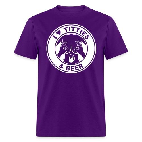 White Beer 01 - Men's T-Shirt
