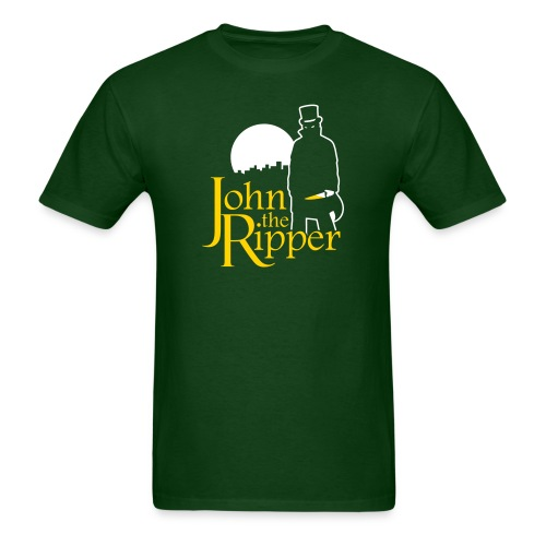 Evil John The Ripper Dark background - Men's T-Shirt