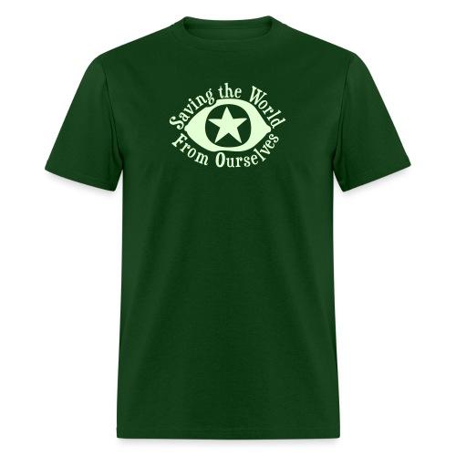 Saving the World - Men's T-Shirt