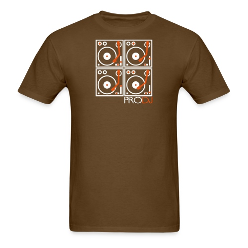 I DJ PRO DJ 4 Turntables 2 color - Men's T-Shirt