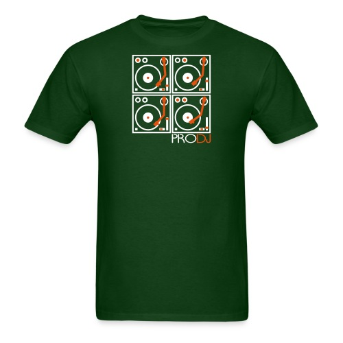 I DJ PRO DJ 4 Turntables 2 color - Men's T-Shirt