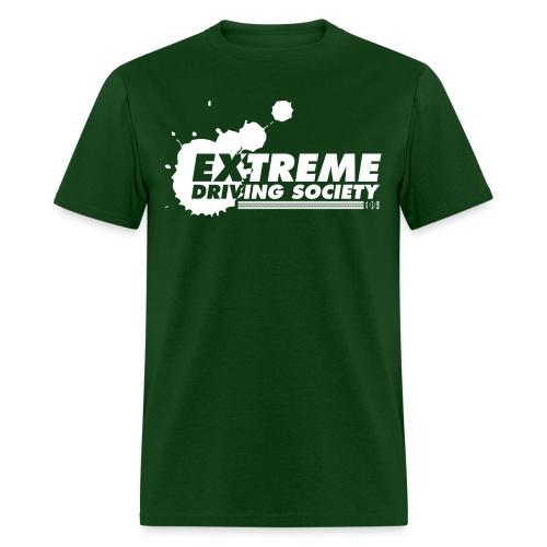 eds dirt splatter logo white - Men's T-Shirt