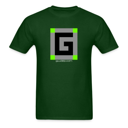 Guude Logo with White Text - Men's T-Shirt