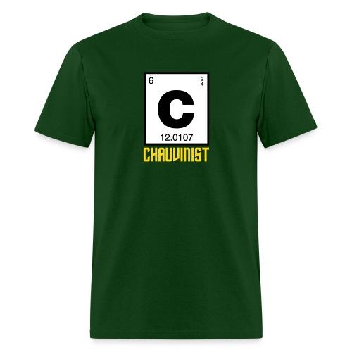 Carbon Chauvinist Element - Men's T-Shirt